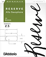 D'Addario  リード レゼルヴ アルトサクソフォーン 強度:2.5(10枚入) ファイルドカット DJR1025