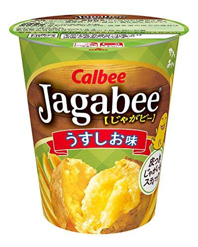 カルビー じゃがビー Jagabee うすしお味 40g × 12個