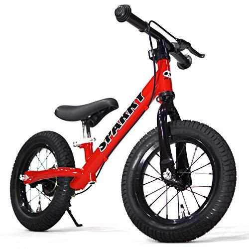 SPARKY ブレーキ付 ペダルなしキッズバイク SPARKY RED