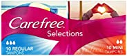 Carefree Tampons Selections Regular 20