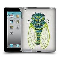 オフィシャル Cat Coquillette セミ ブルー インセクト iPad 2 (2011) 専用ハードバックケース