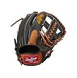 Rawlings(ローリングス) ソフトボール用 ソフトHOH® DP [オールラウンド用] GS7HH125 ブラック/リッチタン [サイズ 11] [12 1/2inch] LH(Right hand throw)※右投用