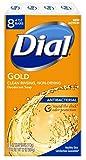 Dial 抗菌石鹸、ゴールド、4オンス、8小節