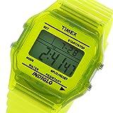 タイメックス TIMEX デジタル クラシック クオーツ ユニセックス 腕時計 T2N808 イエロー