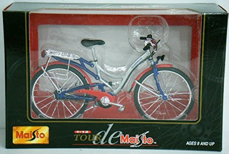 マイスト TOUR de Maisto 1/12 Audi quattro Citybike No.39157 自転車 ダイキャストメタルコレクション