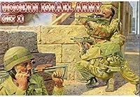 プラスチックモデルFiguresモダンイスラエル陸軍、セット11/ 72Orion 72012
