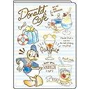 デルフィーノ 2019年マンスリー手帳 ディズニー Donald Duck Sweets Serirs 2018年9月始まり B6サイズ DZ-79548