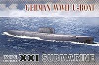 AFVクラブ 1/350 ドイツ海軍 潜水艦 U-ボートタイプXXI プラモデル