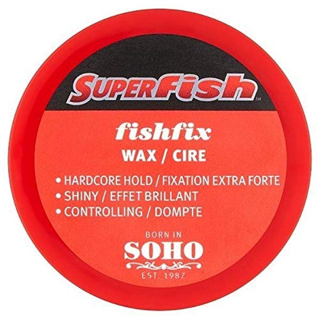 ベッド才能正しい[Fish Soho] ワックス100ミリリットルを制御Superfish Fishfix - Superfish Fishfix Controlling Wax 100ml [並行輸入品]