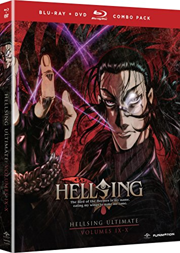 『HELLSING ULTIMATE : Vol.9.10 北米版 / Hellsing Ultimate: Vol 9 & 10 [Blu-ray+DVD][Import]』のトップ画像