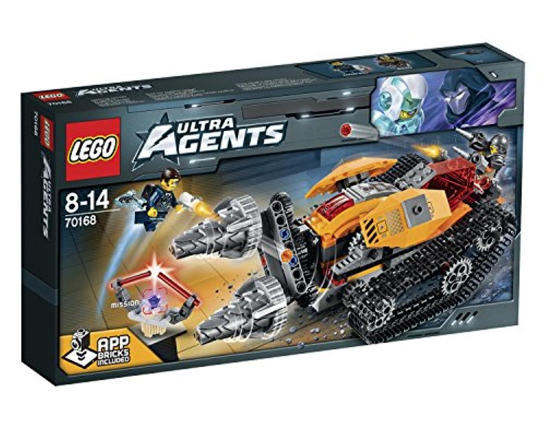 レゴ (LEGO) ウルトラ?エージェント ドリレックスのダイヤ強奪 70168