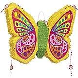 Pop-out Flat Butterfly Pinata Kit - Includes Pinata,pinata Buster,pinata