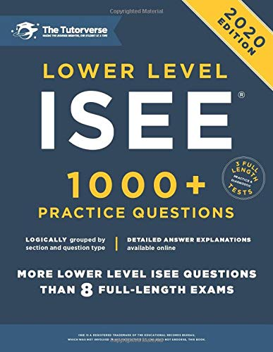 Download Lower Level ISEE: 1000+ Practice Questions 1544725736
