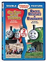 On Site With Thomas/Races Rescues & Runaways [DVD] [Import]