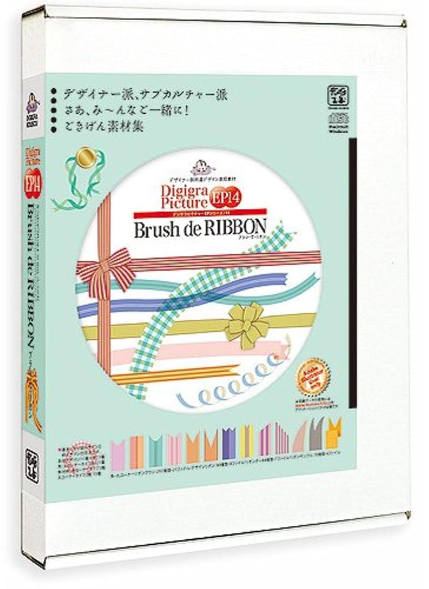 小麦場合エロチックエム?シー?デザイン Digigra Pictuer EP14 Brush de RIBBON ブラ