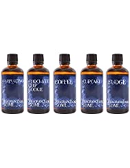 Mystic Moments | Gift Starter Pack of 5 x 50ml Coffee Shop Fragrant Oil