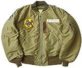 BUZZ RICKSON'S #BR13618 B-15C フライトジャケット Olive(MOD.)『125th TAC. BOMB. SQ.』 42ワンカラー