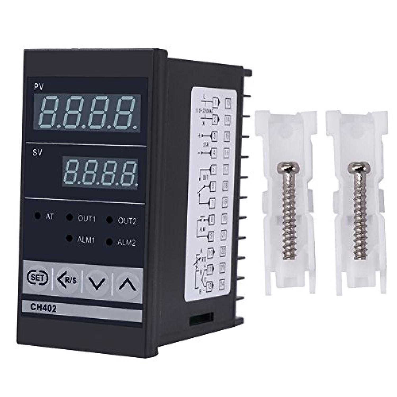 CH402 AC85-264V高精度スマートPID温度コントローラサーモスタットリレーTC / RTD入力