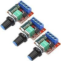 Rasbee 3個 5Aミニ DC モータ PWM 速度コント ローラー 国内在库 LED 調光器 Arduino適用 3V-35V スピード コントロール スイッチ モータ モーターコントローラ スイッチ機能 ミニ スピードコントロール 並行輸入品
