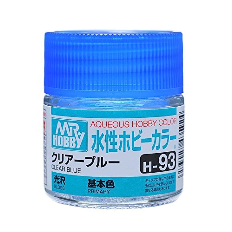 【水溶性アクリル樹脂塗料】水性ホビーカラー H93 クリアー ブルー