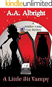 A Riddler's Edge Cozy Mystery 7巻 表紙画像