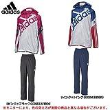 adidas(アディダス) Team ウィンドジャケット パンツ 上下セット 【ユニセックス】 (BX340/BQJ28) (L, UINK×UINK(B30694/B30695))