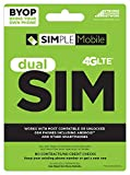 Simple Mobile USA Sim Card with $50 Unlimited Monthly Plan