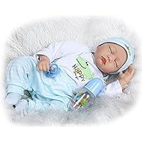 SanyDoll Rebornベビー人形ソフトSilicone 22インチ55 cm磁気Lovely Lifelike Cute Lovely BabyベビーAlligatorかわいい赤ちゃん