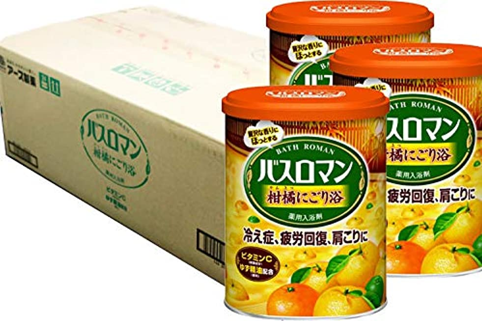 性別ポータル誰のバスロマン 柑橘にごり浴 (1ケース(12個入))