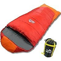 寝袋 高級 シュラフ -10℃ 封筒型 冬用 登山 アウトドア 車中泊 防災用 災害時 保温性UP 軽量 温かい 丸洗い