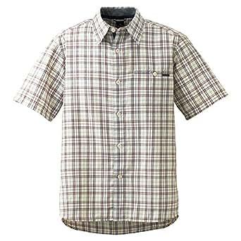 (モンベル)mont-bell WIC.ライト シングルポケット ハーフスリーブシャツ Men's 1104947 IV アイボリー L