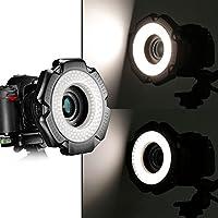 NEEWER R-160 160枚 5600K 10WミニLEDマクロリングライト 6つアダプタリング (49mm/52mm/55mm/58mm/62mm/67mm)付属【並行輸入品】