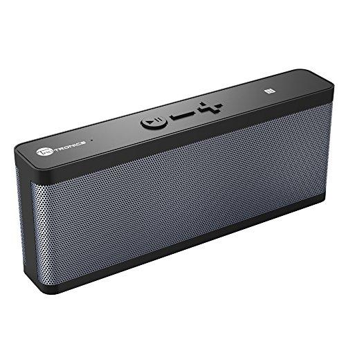 Bluetooth スピーカー 【国内正規品】 TaoTronics 防水Bluetooth 4.0 ワイヤレスステレオスピーカー 6W低音強化アウトドア/防水スピーカー 10時間連続再生NFC搭載 スマートホン/タブレット/など対応 TT-SK09