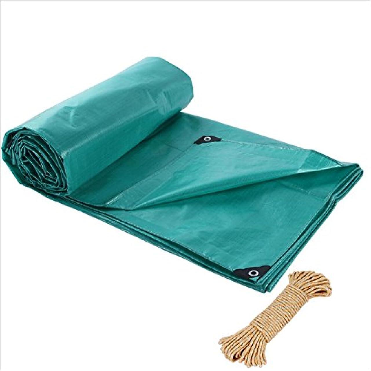 落ち着く私たちのもの素朴なZHANWEI ターポリンタープ 厚くする レインプルーフ 日焼け止め テントカバー - 緑、 200g /㎡、 カスタマイズ可能なサイズ (色 : 緑, サイズ さいず : 4 x 5m)