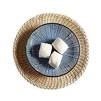 コースター 籐マットラタン 籐製 コップマット ティポートマット 耐熱パッド 天然素材 伝統工芸 手編み キッチン オフィス おしゃれ 家を飾り 直径10、13、18、25cm