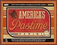2013年のパーニニアメリカの気晴らしBaseball Hobbyボックス