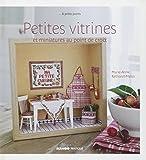 MANGO 「Petites vitrines et miniatures au point de croix」 クロスステッチ作品・図案集-フランス語