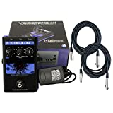 TC-Helicon VoiceTone H1 Vocal Harmony Effect Pedal w/Power Supply, 2 Free 20' XL