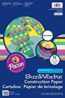 SunWorks Construction Paper 12X18 Smart-Stack Assortment 150 Sheets 【Creative Arts】 [並行輸入品]