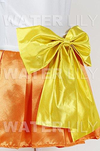 『セーラームーン 風 コスチューム 衣装 10点セットc328el (ヴィーナス 愛野美奈子 風 , Lサイズ)』の3枚目の画像