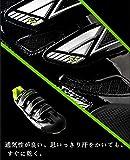 [tiebao] ビンディングシューズ サイクリング 自転車 シューズ ロード バイク シュ−ズ クリート 両対応シューズ 男女可 スニーカー (44, ブラック) 画像