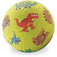 Crocodile Creek Dinosaurs Playground Ball, Green, 7 by Crocodile Creek