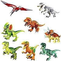 クリスマスプレゼントに最適 ジュラシック ブロック 互換 8体??? 恐竜