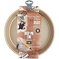 (Paul Hollywood) ノンスティック深いパイパン23センチメートル (x2) - Paul Hollywood Non-Stick Deep Pie Pan 23cm (Pack of 2) [並行輸入品]