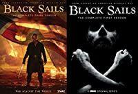 Black Sails Complete First Season 1 & Black Sails Complete Season 3 DVD Bundle Series 2 Pack