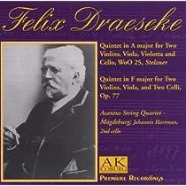 String Quintets: Acantus Sq J.hartmann(Vc)