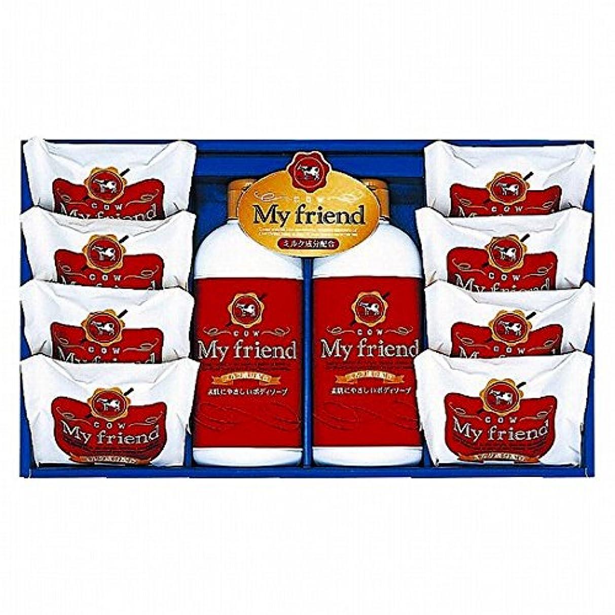 膨らませるクリーナー布nobrand 牛乳石鹸 マイフレンドボディソープセット (21940009)