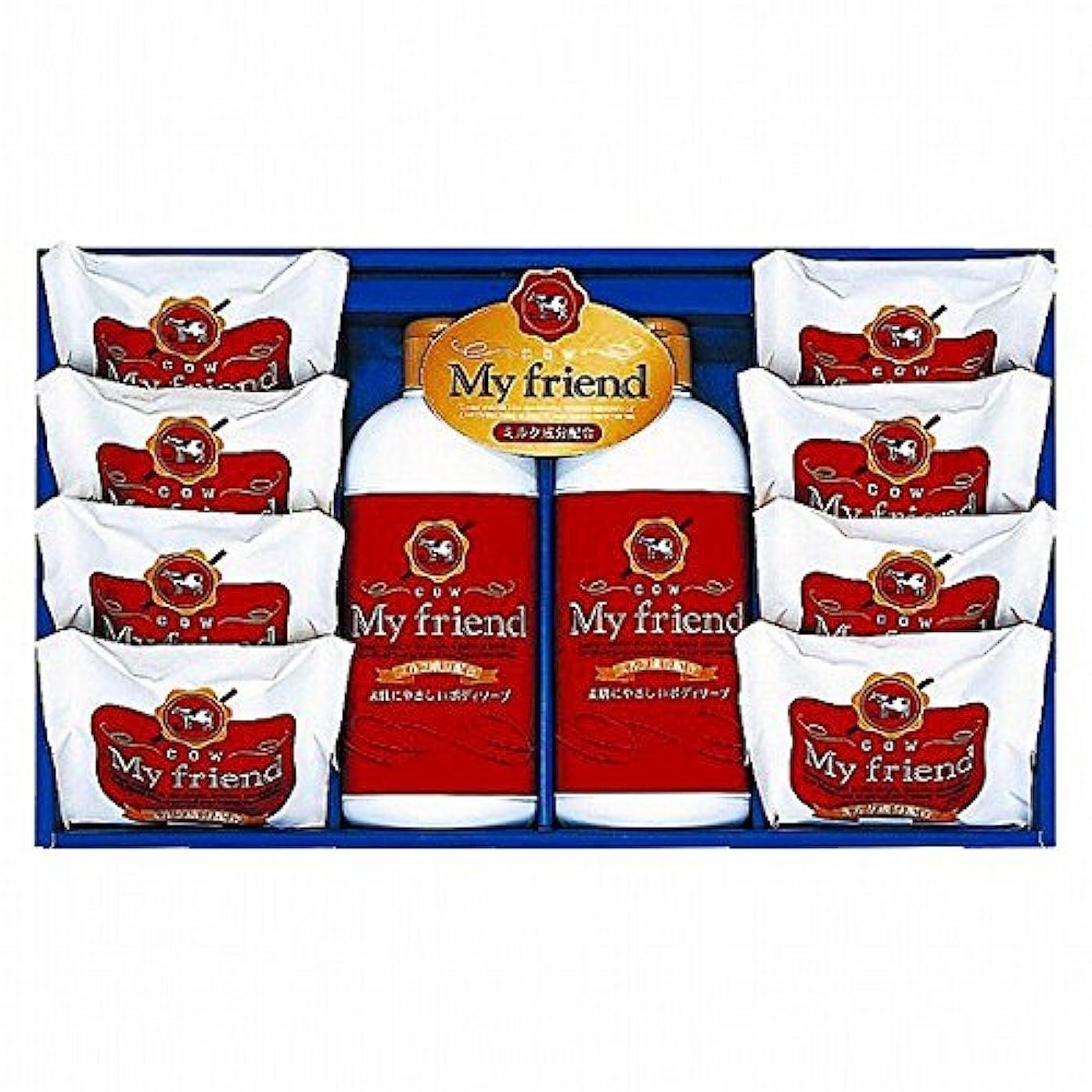 偽善かき混ぜる回るnobrand 牛乳石鹸 マイフレンドボディソープセット (21940009)