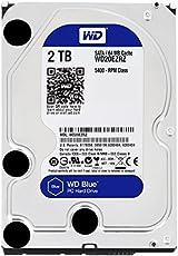 WESTERN DIGITAL WD20EZRZ-RT WD Blueシリーズ 3.5インチ内蔵HDD 2TB SATA3(6Gb/s) 5400rpm 64MB
