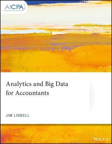 Analytics and Big Data for Accountants (AICPA)